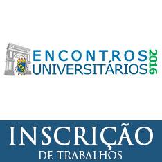 Encontros Universitários 2016 – Inscrições de trabalhos