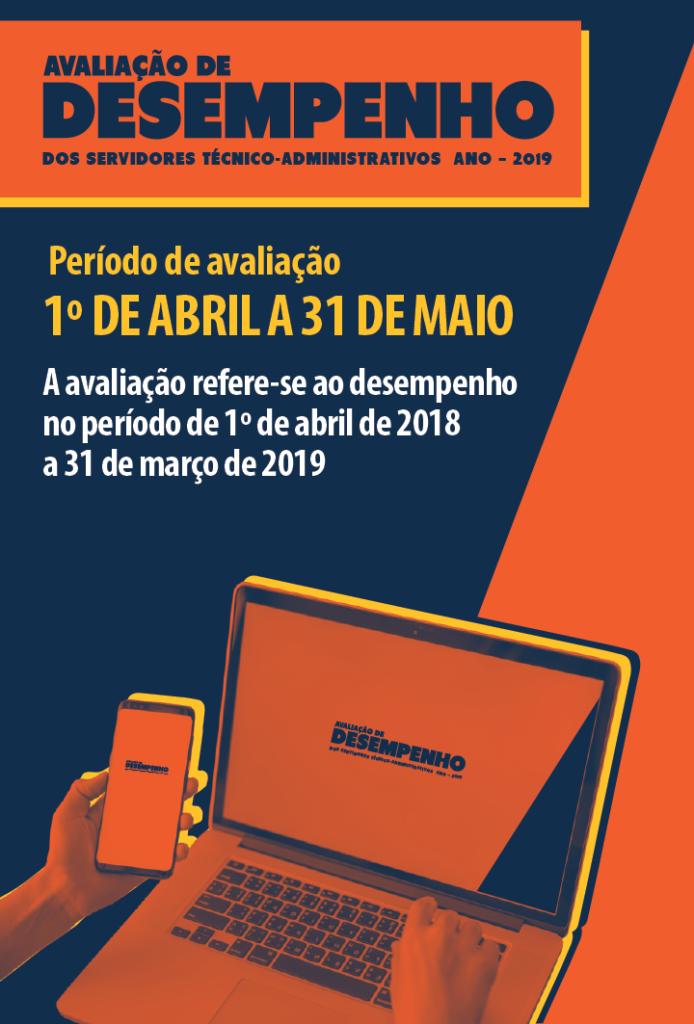 Avaliação de desempenho dos servidores técnico-administrativos ano - 2019